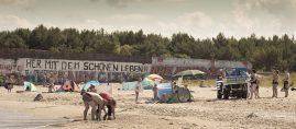 """Jan Thau """"Her mit dem schönen Leben!"""" Prora / Rügen 2014"""
